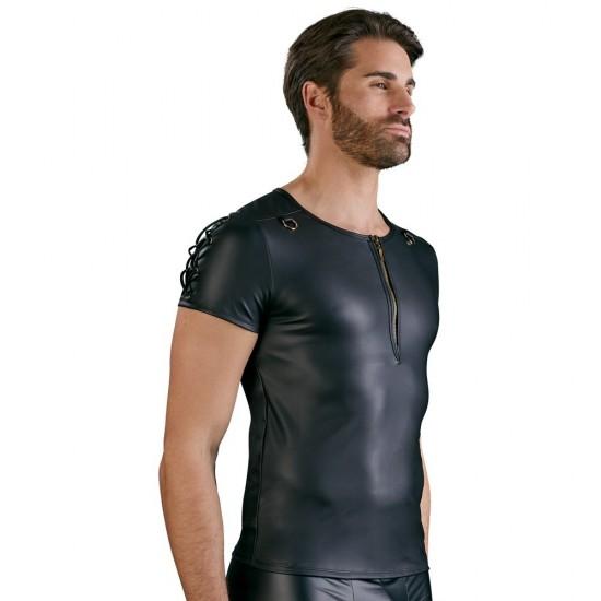NEK Matt Black Straight Cut Shirt